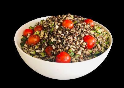 Tomato, Quinoa & Cucumber Salad
