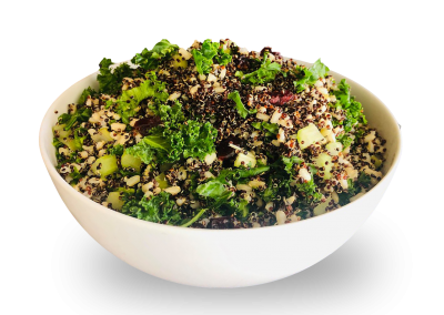 Brown Rice Quinoa with Kale & Craisins