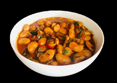 Mediterranean Lima Bean & Roast Veg
